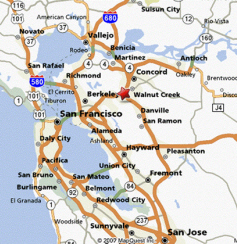 East Bay San Francisco Map Contact East Bay Dyslexia Solutions